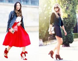 Váy xòe - mặc thế nào cho đẹp?