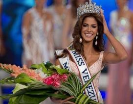 Cận cảnh nhan sắc hoàn mỹ của tân hoa hậu Venezuela