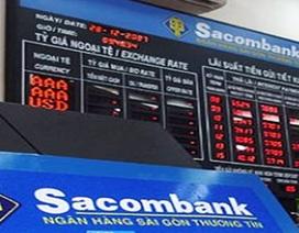 Sacombank tăng trưởng tín dụng âm 2% trong năm 2011