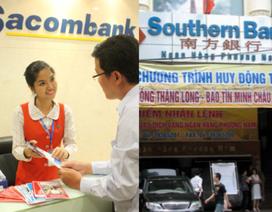 "Sacombank nguy cơ ""bốc hơi"" 67% lợi nhuận vì sáp nhập Southern Bank"