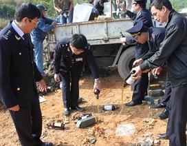 Một tháng, bắt 35 vụ buôn lậu từ Trung Quốc