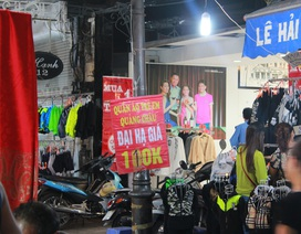 """Chợ đêm Đồng Xuân: """"Thiên đường"""" hàng nhái"""
