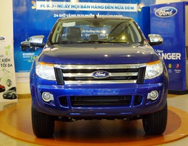 Xe pick-up nào bán nhiều nhất tháng 2/2014?