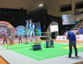 Cần Thơ: Khai mạc chung kết cuộc thi Sáng tạo robot Việt Nam 2015