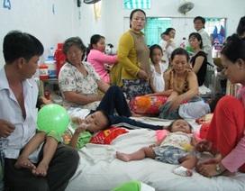 Cần Thơ: Thời tiết nắng nóng, bệnh nhi nhập viện tăng cao