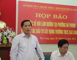 Kỷ luật nhiều cán bộ để doanh nghiệp xẻ vùng đệm Di sản Hạ Long