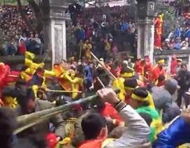 """Trưởng Công an huyện Sóc Sơn lên tiếng vụ """"hỗn chiến"""" tại hội Gióng"""