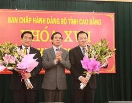 Ông Nguyễn Hoàng Anh được bầu làm Bí thư Tỉnh ủy Cao Bằng