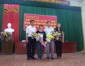 Hội trường UBND xã chật cứng trong ngày ông Chấn được xin lỗi công khai