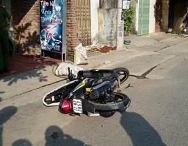 Điều tra, làm rõ vụ việc CSGT bị xe đâm gãy chân