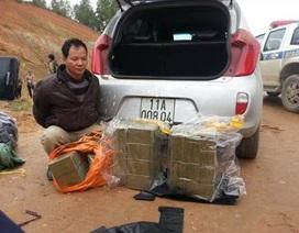 Lộ diện đối tượng vận chuyển 156 bánh heroin bằng xe ô tô
