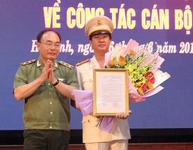 Bổ nhiệm Giám đốc Công an tỉnh Hà Tĩnh