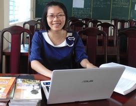 Cô giáo trẻ say nghề đạt giải Nhất cuộc thi tìm hiểu về Bác Hồ