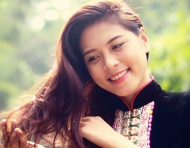 Người đẹp Lò Thị Minh và niềm tự hào tấm áo của người Xinh Mun