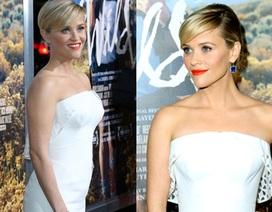Ngôi sao giành giải Oscar trẻ trung với váy trắng hở vai