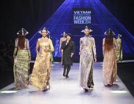 Đêm bế mạc đẹp mắt của tuần lễ thời trang quốc tế Việt Nam