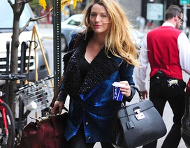 Blake Lively - Bà bầu quyến rũ và thời trang