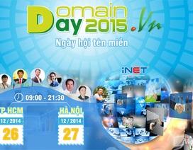 Sắp diễn ra ngày Domain Day Việt Nam 2015