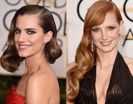 """""""Sao"""" Hollywood quay lại với tóc uốn cổ điển"""