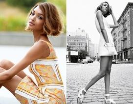 Siêu mẫu da màu đẹp như mộng trên Vogue