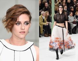 Kristen Stewart nổi bật trong show của Chanel
