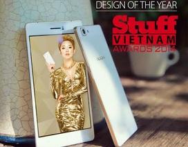 """OPPO R5 đoạt giải """"Thiết kế của năm"""" tại Stuff Vietnam Awards 2014"""