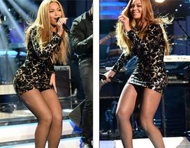 Beyonce khoe chân thẳng tắp