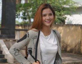 Minh Xù hát Cơn mưa tình yêu tặng siêu mẫu Kỳ Hân