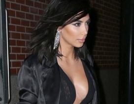 Kim Kardashian ăn vận gợi cảm tại tuần lễ thời trang New York