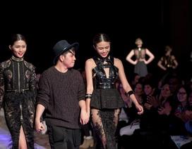 Quán quân Project Runway gây ấn tượng với khán giả New York