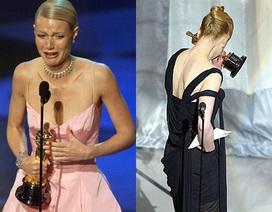 """Những khoảnh khắc xúc động của """"sao"""" khi nhận giải Oscar"""