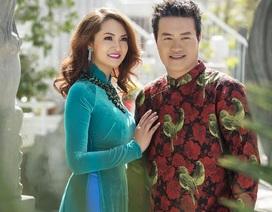 Khoảnh khắc ngọt ngào của vợ chồng Minh Chánh