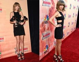 Taylor Swift đẹp nuột nà trên thảm đỏ