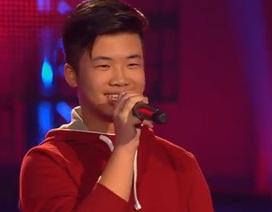 Cậu bé gốc Việt gây ấn tượng tại The Voice Kids Đức
