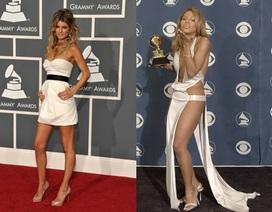 """Những hình ảnh đẹp của """"sao"""" tại các lễ trao giải Grammy"""