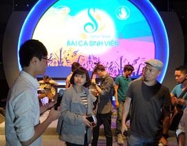 Đêm hội âm nhạc Hành trình bài ca sinh viên năm 2015: Chờ bùng nổ