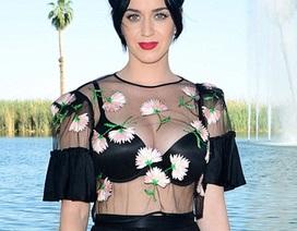 Katy Perry bất ngờ diện áo xuyên thấu táo bạo