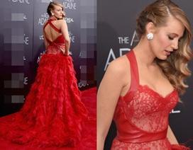 Kiều nữ được khao khát nhất thế giới lộng lẫy với váy đỏ