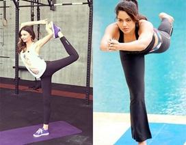"""Những """"sao"""" nổi tiếng mê tập Yoga"""
