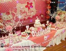 Địa điểm thú vị tổ chức tiệc sinh nhật cho bé
