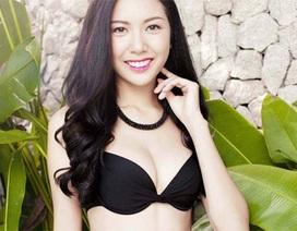 Á khôi Thúy Vân học tiếng Anh để chuẩn bị thi hoa hậu