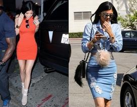 Em gái 17 tuổi của cô Kim diện cả cây đồ Jeans sành điệu