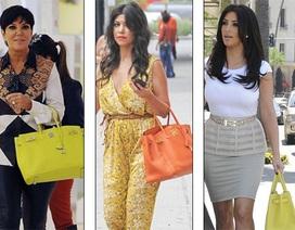 Gia đình Kardashian mê túi Hermes