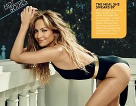 Jennifer Lopez khoe đường cong nóng bỏng ở tuổi 46