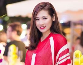 Á hậu Dương Tú Anh trẻ trung làm đại sứ Sea Games