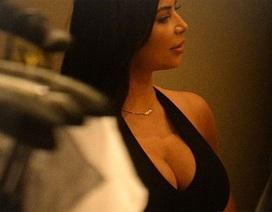 Kim Kardashian béo lên trông thấy