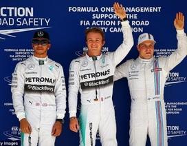 Đua phân hạng F1 2014 chặng Mỹ: Lợi thế dành cho Nico Rosberg