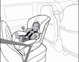 Sử dụng ghế ô tô cho trẻ nhỏ - Sai một li, đi một dặm