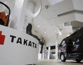 Chủ tịch hãng túi khí Takata từ chức