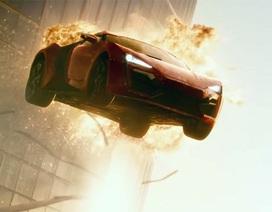 """Tín đồ tốc độ """"sôi sục"""" với trailer mới của Fast and Furious 7"""